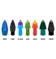 traditional arabic women clothing isolated cartoon vector image vector image
