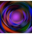 Colorful abstract circular background vector image vector image