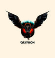 gryphon monster vector image vector image