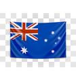 hanging flag australia commonwealth vector image vector image