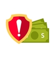 Money safety vector image vector image