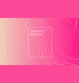 pink modern abstract background vector image vector image