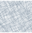 Seamless pattern with random cross lines texture vector image
