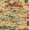 Military camouflage design vector image