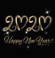 2020 happpy new year vector image vector image