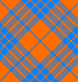 clan cameron tartan diagonal seamless pattern vector image vector image