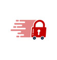 safety delivery logo icon design vector image vector image