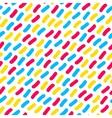 Seamless Multicolor Confetti Hand Drawn vector image vector image