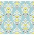 seamless vintage luxury damask floral pattern vector image vector image
