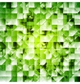 Tech green iridescent background vector image vector image