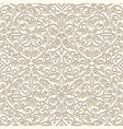 vintage beige seamless pattern vector image vector image