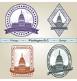 Vintage stamp Washington DC