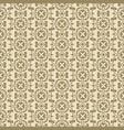 beige plant decorative pattern backdrop vector image vector image