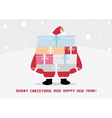 Christmas greeting card29 vector image vector image