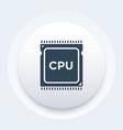 cpu processor icon pictogram vector image