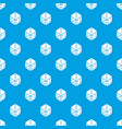 cube casino pattern seamless blue vector image
