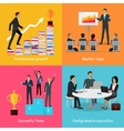 Education Infographic of Successful People Growth vector image vector image
