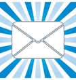 icon of envelope vector image vector image