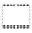 mobile tablet halftone icon vector image