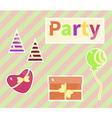 party vector image vector image