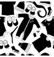 scandinavian seamless baby pattern vector image