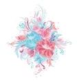 Tender Floral Bouquet vector image