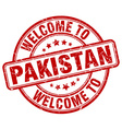 welcome to Pakistan vector image vector image