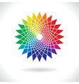 Circle Colorful Elements vector image