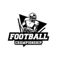 american football championship badge