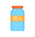 bca vitamins for sportsmen vector image vector image