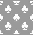 Card seamless pattern vector image vector image