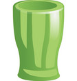 cup goblet beaker icon isolated on white vector image vector image