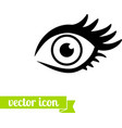 Eye icon 1 vector image