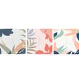 floral frame with japanese wave pattern flower vector image