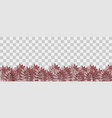 halloween dark plant paper origami vector image vector image