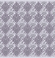 seamless baroque damask luxury purple background vector image vector image