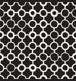 Seamless childlike pattern monochrome hand vector image