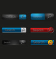 Search Button vector image