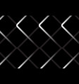 steel cage abstract on black background vector image