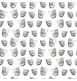 Theatre masks of drama and comedy on white vector image