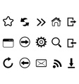 web browser tools icon vector image
