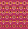 ethnic tribal pattern geometric design vector image vector image
