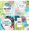 fashion sale and special offer concept card vector image vector image