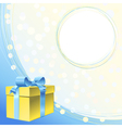 frame for greeting or invitation for holiday vector image vector image
