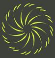 retro sun burst shapes vintage logo labels badges vector image vector image