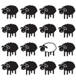 Sheep concepts vector image