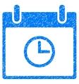 Time Calendar Day Grainy Texture Icon vector image vector image
