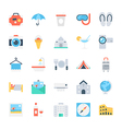 Travel Icons 4 vector image