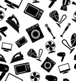 Seamless pattern of Household appliance vector image