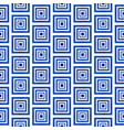 blue and white pattern seamless vector image